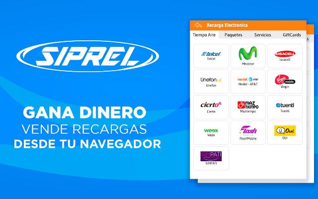 siprel.mx - Recargas Electronicas y Servicios