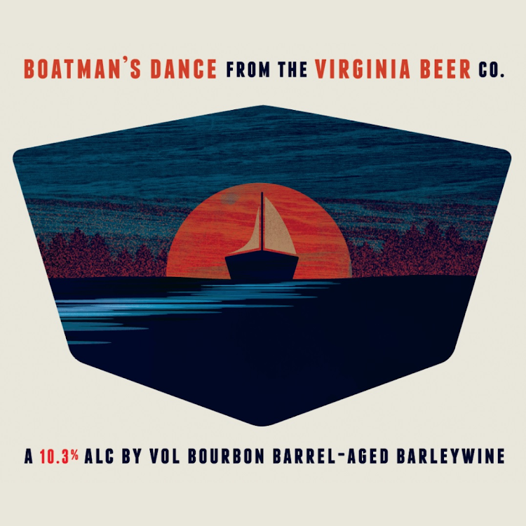 Logo of Virginia Beer Co. Boatman's Dance