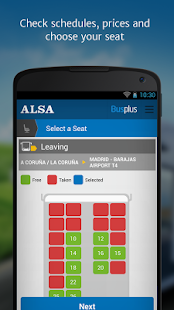 ALSA: buy your bus tickets- screenshot thumbnail