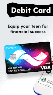 screenshot image - Visa Debit Card App