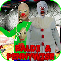 Pennywise & Baldi Granny Mod: Chapter 2 icon