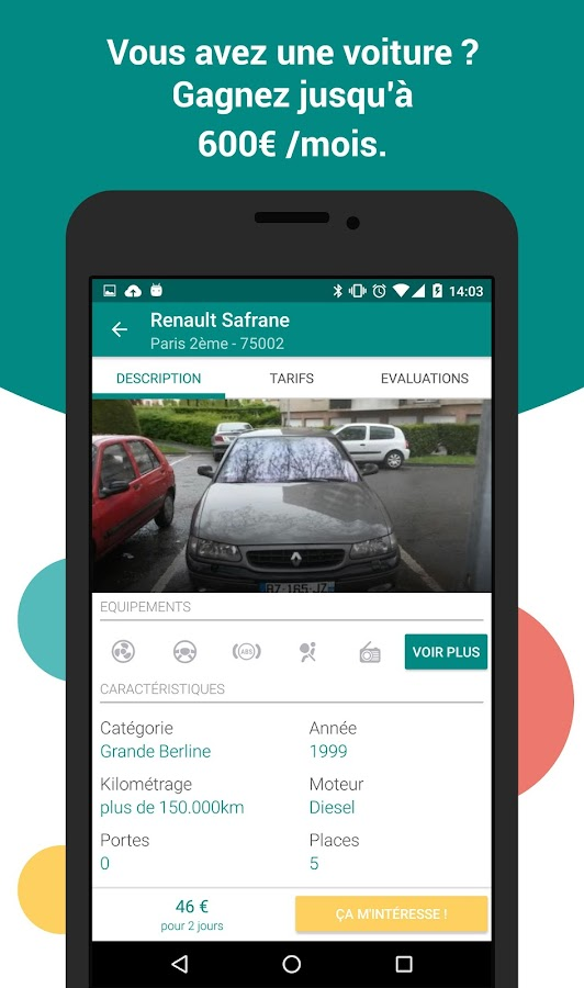 OuiCar : location de voiture- screenshot