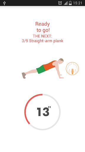 Abs workout 7 minutes screenshot 3
