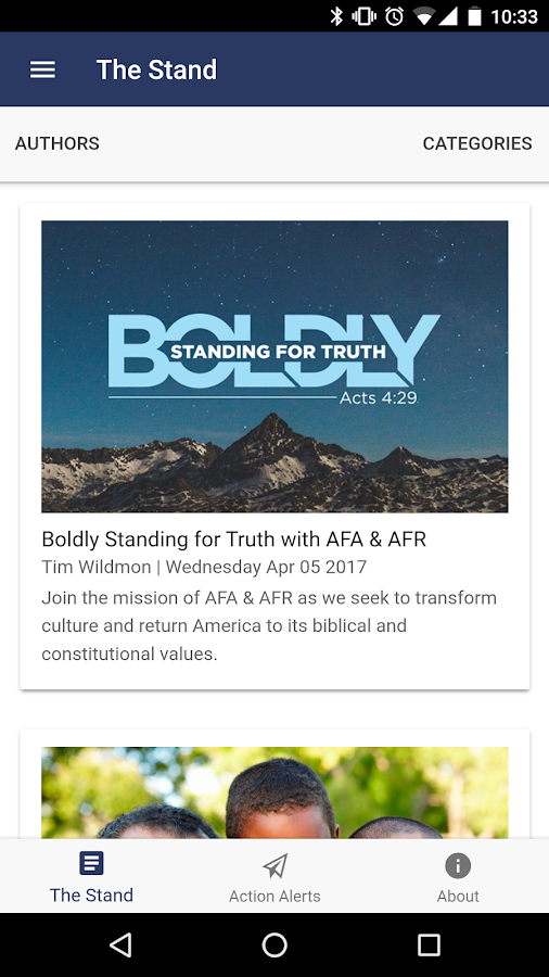 American Family Association- screenshot