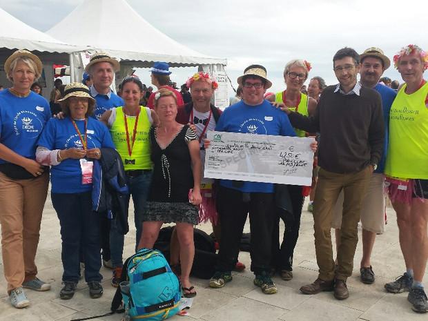 Marathon du Médoc 2015 au profit du Projet de L'Arche en Gironde