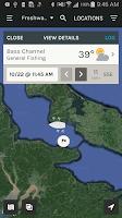 Screenshot of ScoutLook Fishing