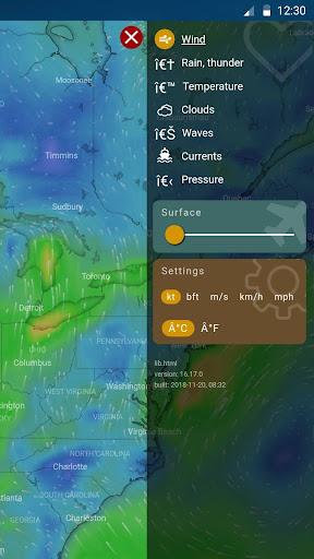 Weather radar & Global weather checker 15.1.0.45733_45901 screenshots 2