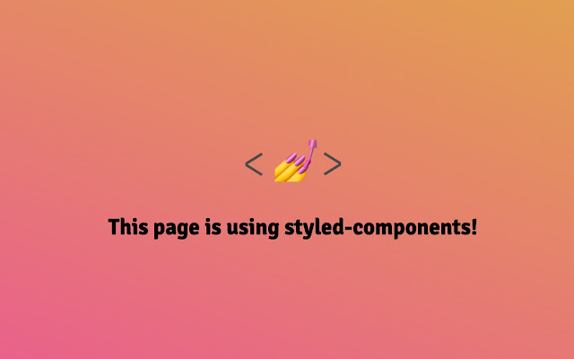 Styled Components Indicator