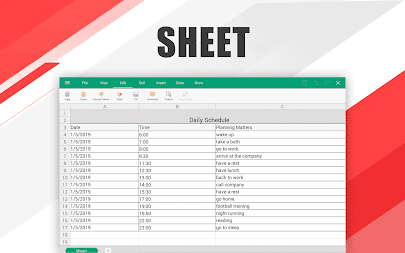 WPS Office - Word, Docs, PDF, Note, Slide & Sheet APK screenshot thumbnail 20