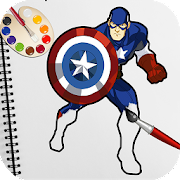 Game Superhero Coloring Book Pages: Best Coloring Games APK for Windows Phone