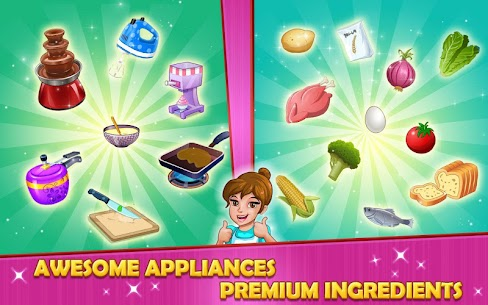Kitchen Story :Cooking Game MOD Apk (Unlimited Money) 5