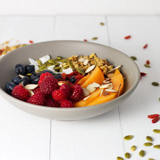 Granola & Yogurt Bowls.