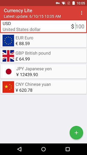 ミニマ通貨 - リアルタイム為替レート