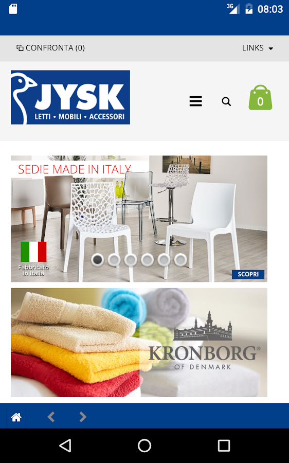Jysk letti mobili accessori android apps on google play for Mobili jysk opinioni