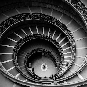 Vatican, near bookstore ... by Augustin Anic - Buildings & Architecture Other Interior ( history, religion, structure, stairs, old building )