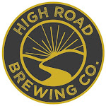 Logo for High Road Brewing Co.