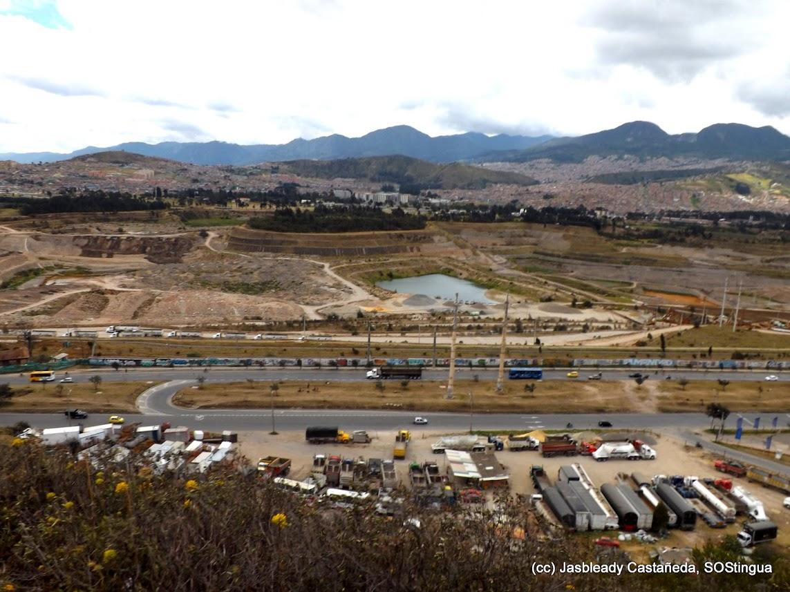 Río Tunjuelo y cementeras