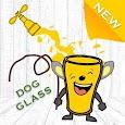 Dog Glass Happy Draw Lines apk