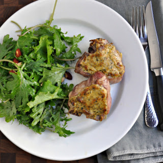 Dijon and Herb Roasted Lamb Chops