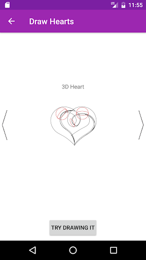 玩免費遊戲APP|下載Draw Hearts Step By Step app不用錢|硬是要APP