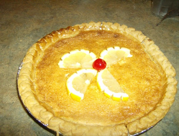 Lemon Chess Pie Recipe