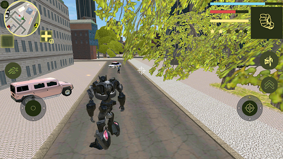 Download Offroad Robot Car Transforme SUV Supercar For PC Windows and Mac apk screenshot 4