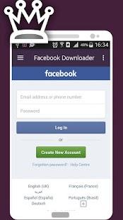 Downloader for Insta & Facebook - náhled