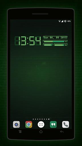 PipClock Zooper Fallout Clocks