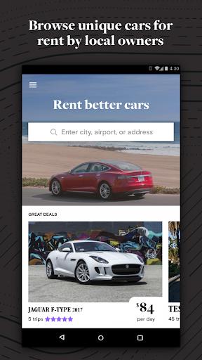 Turo - Rent Better Cars Screenshot