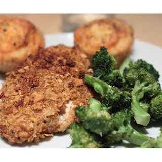 Oven - Fried Chicken Breasts.