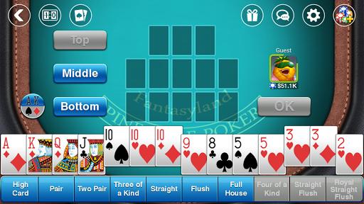 Télécharger DH Pineapple Poker OFC APK MOD (Astuce) screenshots 5