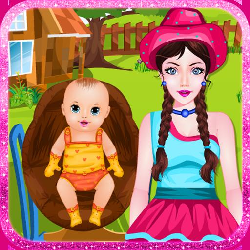 休闲のカントリーママの赤ちゃんゲーム LOGO-記事Game