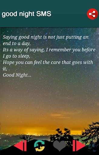 Sweet Good Night Messages 4.4 screenshots 1