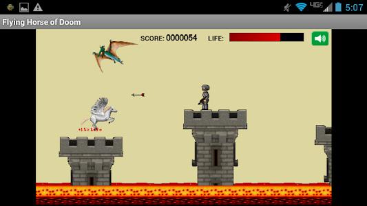 Flying Horse of Doom screenshot 1