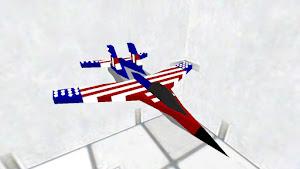 American supersonic jet