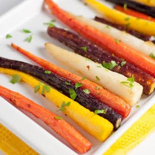 Easy Roasted Carrots with Honey-Ginger Glaze