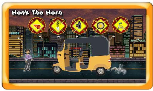 Tuk Tuk Auto Rickshaw Toy