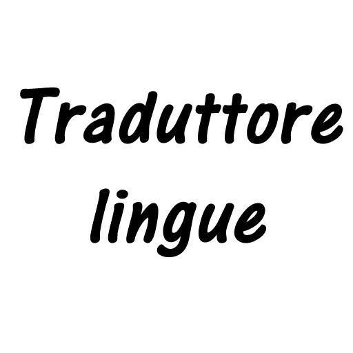 Traduttore lingue