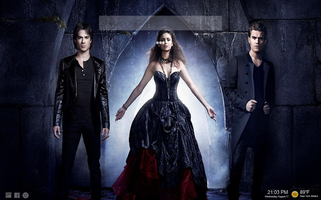 The Vampire Diaries New Tab Backgrounds HD