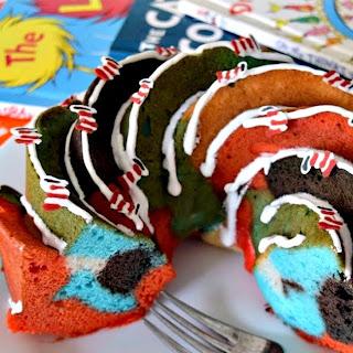 How to Make Dr. Seuss Swirled Bundt Cake