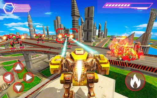 Télécharger Gratuit Robots de guerre 2020: Fighting Robots Strike APK MOD (Astuce) screenshots 1