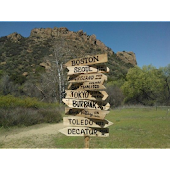Fingerpost Directional Sign