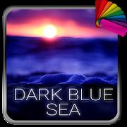Dark Blue Sea Theme for Xperia