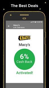 Ebates: Cash Back Shopping. Get Deals & Save Money - náhled