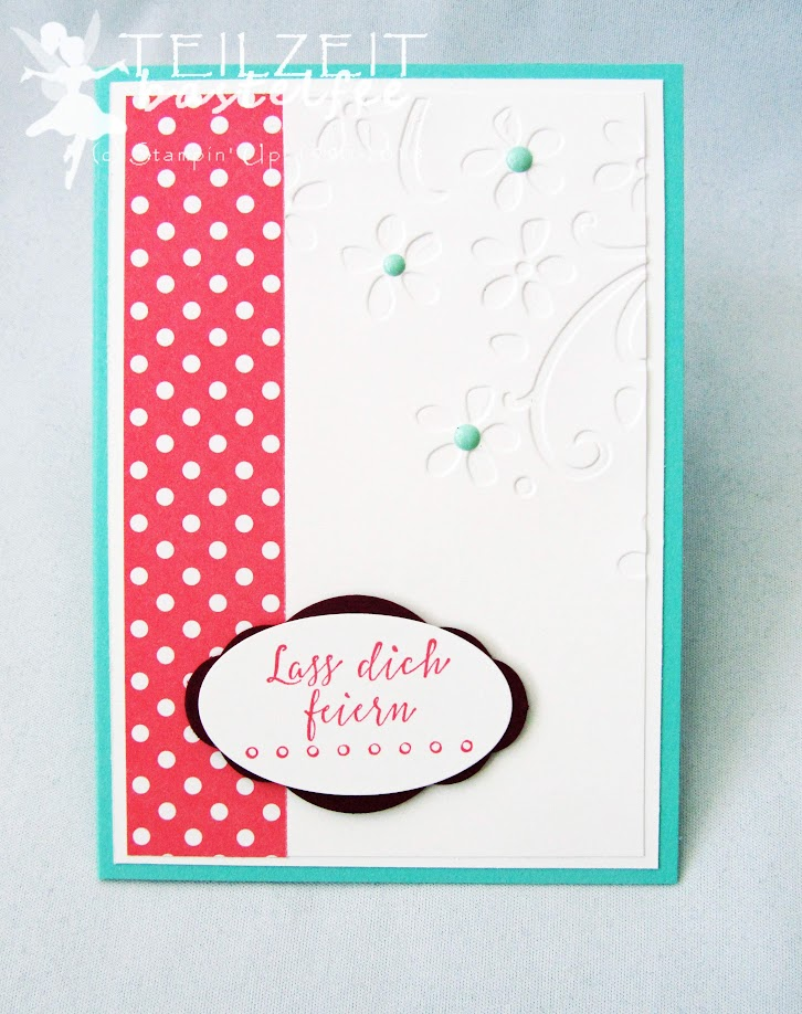 Stampin' Up! - Inkspire_me #358, Color Challenge, Liebevolle Details, Detailed with Love