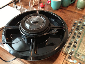 Photo: $15. Oster TSP100 Serving Platter with Center Warming Pot http://www.amazon.com/Oster-TSP100-Serving-Platter-Warming/dp/B001EUEZPG/ref=pd_sxp_f_r