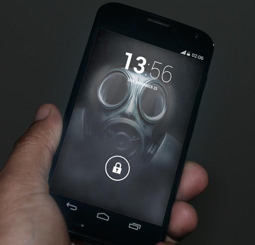 Gas Mask Live Wallpaper