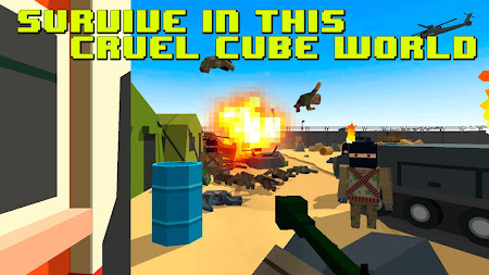 Cube War: City Battlefield 3D 2.6 screenshot 449908