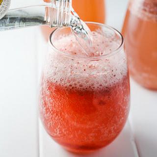 Homemade Strawberry Soda.
