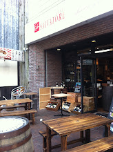 Photo: Nice looking outdoor seating at wine bar and Italian restaurant.  Ogikubo, Tokyo.